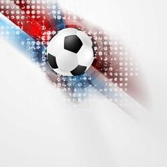 European Football Championship in France vector design