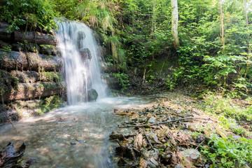 Wasserfall mit Quellwasser