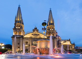 Gudalajara cathedral, Mexico