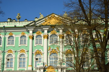 Hermitage in the Spring- St. Petersburg, Russia