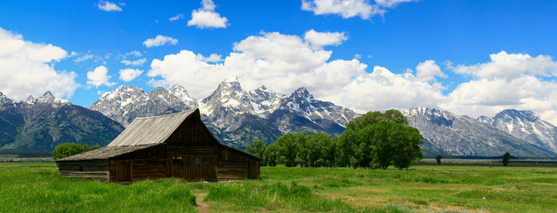 Old Barn in Jackson Hole Wyoming