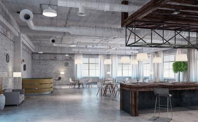 Elegant office interior