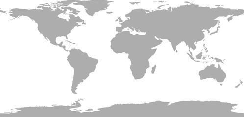 Wall Mural - World map