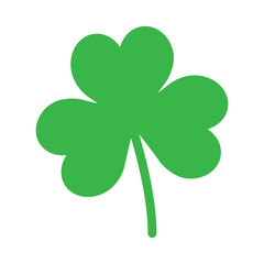 Green Shamrock Icon