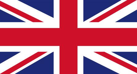 UK flag Wall mural