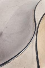Skate-park bowl rails background