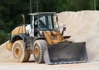 carrière de sable calcaire en Dordogne
