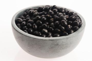 black soya beans