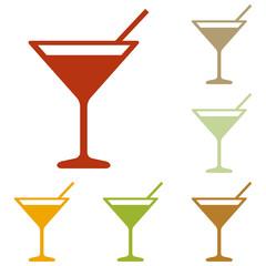 Cocktail sign illustration