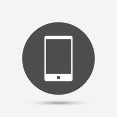 Smartphone sign icon. Support symbol.