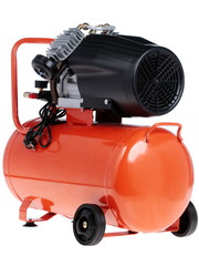 New air compressor on a white background.