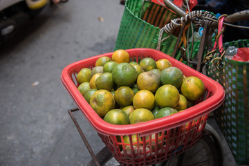 Fruits Being Sold