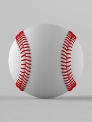 Baseball. 3D illustration. 3D CG.