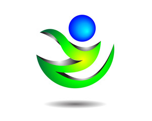 Glossy Flame Logo