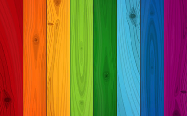 Multicolored Boards Background