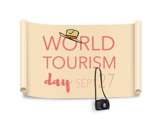 World tourism day, September 27