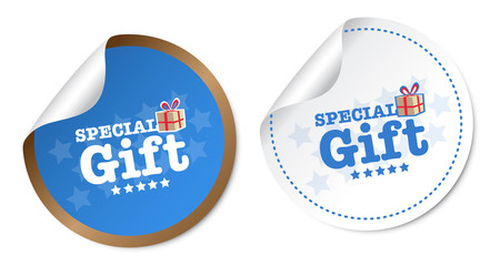 Special Gift Stickers