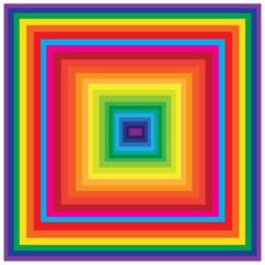 Square wallpaper colorful