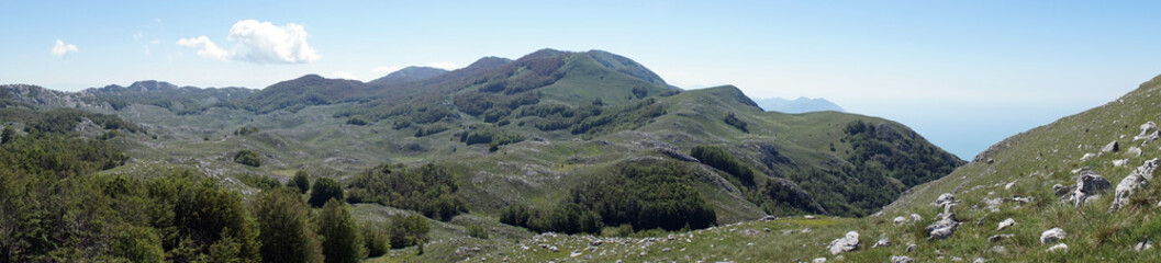 Panorama of mountain