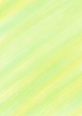 Pastel background with brushstrokes in yellow and green colors. Series of Watercolor, Oil, Pastel, Chalk and Inc Backgrounds.