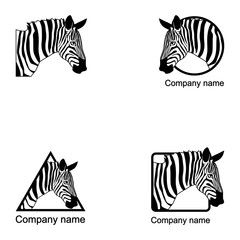 Set of Zebra logo