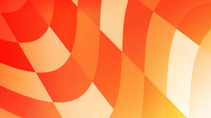 warm color orange background abstract art vector