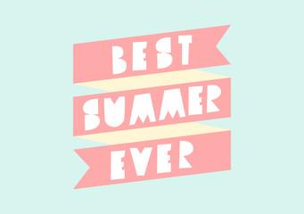 Summer Poster Design