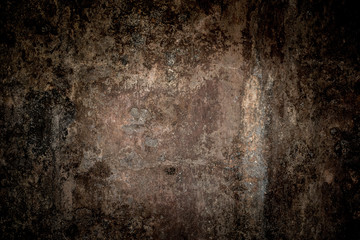 dark tone old weathered wall texture background