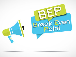 acronyme : Break Even Point