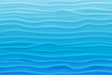 Abstract Design Background of Blue Waves