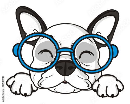 white cartoon dog with glasses les baux de provence Oakley Lizard quot glasses sleep lie dream closed eyes glasses