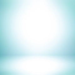 Light blue abstract background with radial gradient effect