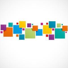 fond abstrait,carré coloré