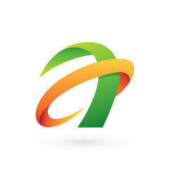 Abstract Letter A Logo