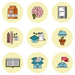 Knowledge-Based icon set