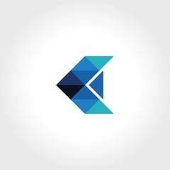 triangle arrow technology logo