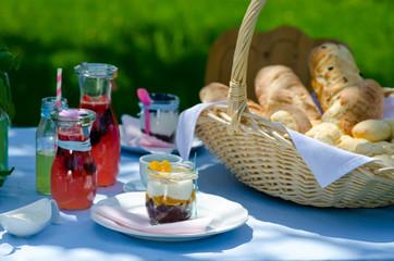 Gartenparty Tischdeko