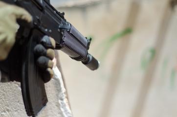 Ak 74 airsoft weapon