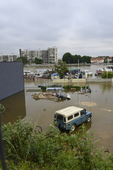 Crue de la Seine, Inondation, Choisy le Roi, Val de Marne, 94,  juin 2016,