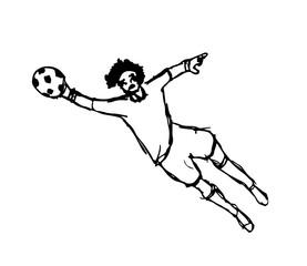 Goal keeper design