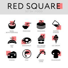 Red Square Set 04