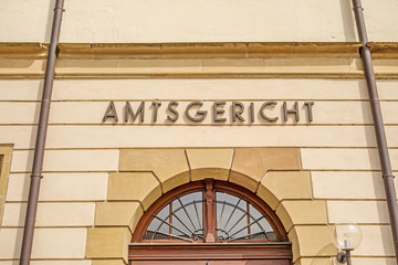 District court / Amtsgericht