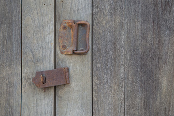 door old ancient wood