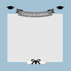 Congratulation graduation banner
