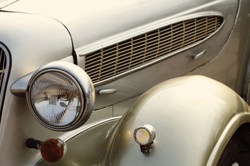 Fotobehang Vintage cars Beautiful vintage retro car