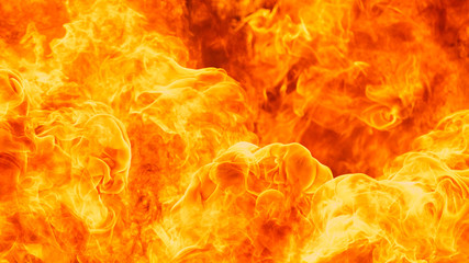 Deurstickers Vuur blaze fire flame texture background