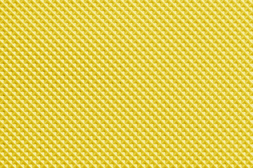 Closeup detail of yellow surface texture