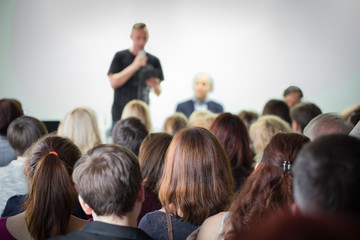 Classroom meeting at lecture at Spalah creative space.