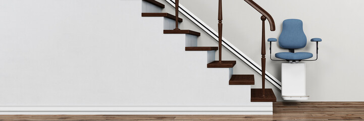 Altersgerechtes Wohnen mit Treppenlift