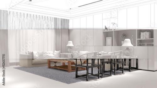 wohnzimmer planen und einrichten stockfotos und lizenzfreie bilder auf bild. Black Bedroom Furniture Sets. Home Design Ideas